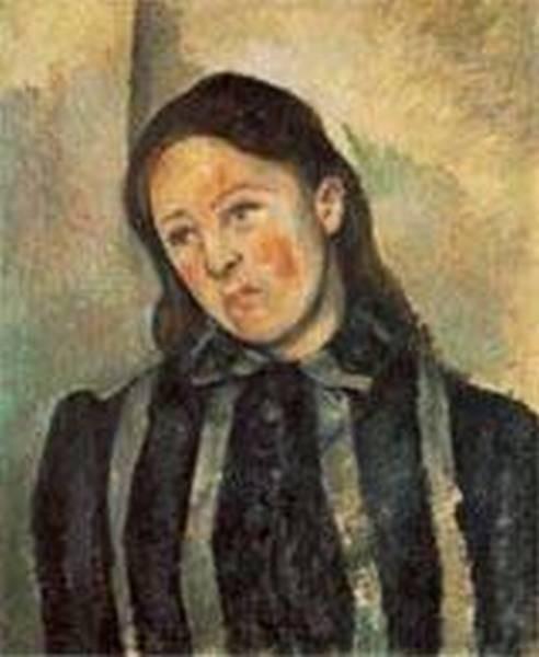 Madame cezanne with unbound hair 1890 92 xx philadelphia museum of art